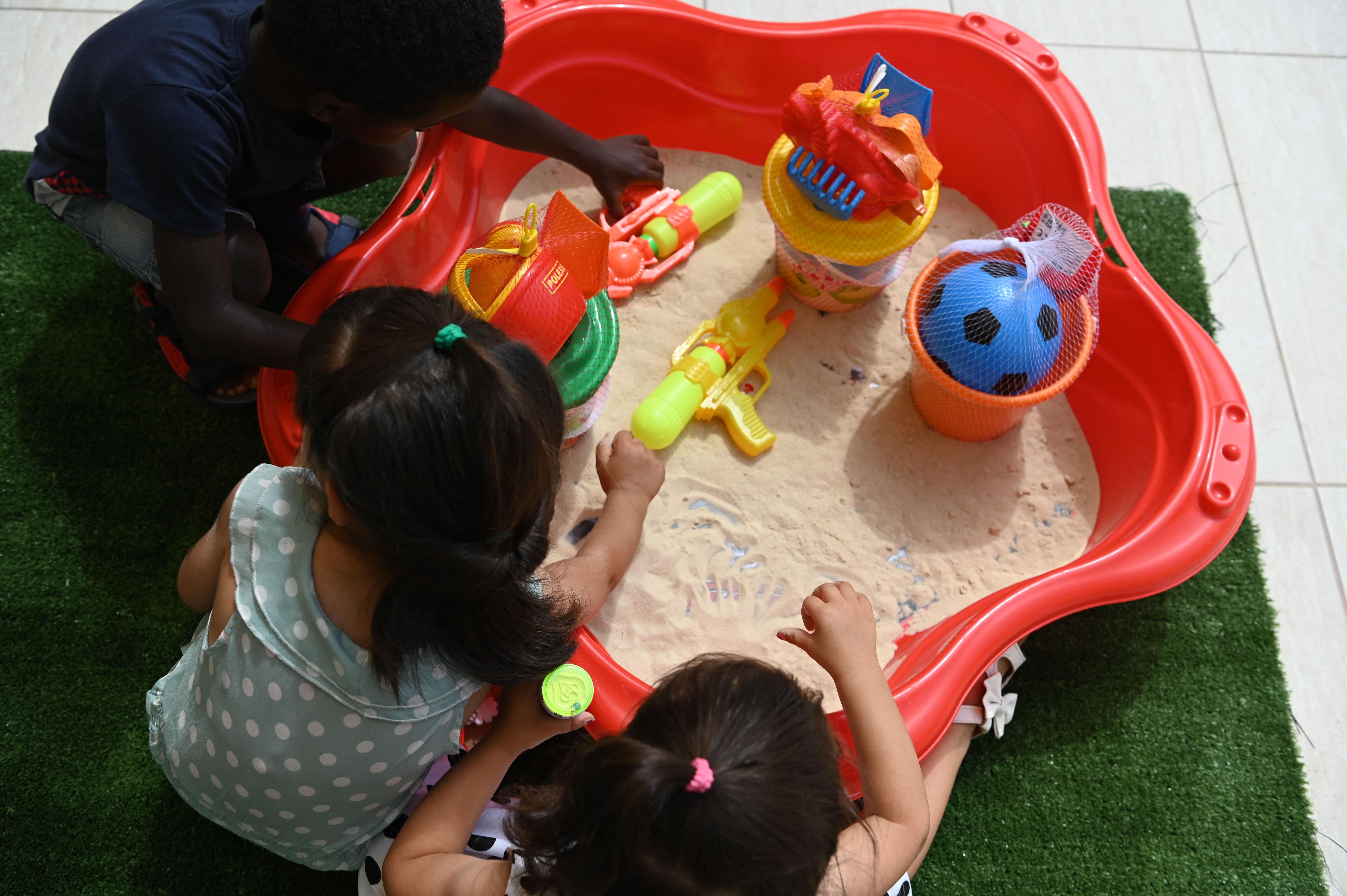 A new world of play opens up at Dar Santa Tereża